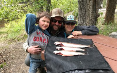 Michael Dadson – Fishing with my children